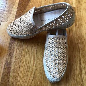 HP🎉 🌺🌺🌺 Macramé Slip-on Sneaker 🌺🌺🌺